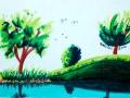 Bäume_Copicmarker